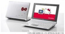 ハローキティのミニノートPC 「SOTEC C1」限定発売 オンキヨーから