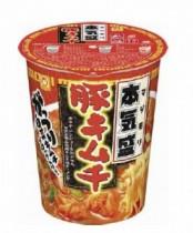 マルちゃんの「本気盛(マジモリ)」新作豚キムチ発売 東洋水産