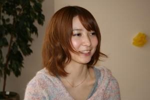 ミス理系美人2010 林玲さん(撮影:鈴木亮介)