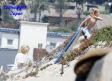 【イタすぎるセレブ達】ケイト・ハドソン、産後8日にしてもうビーチへ。