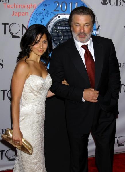 6月のトニー賞授賞式に連れ立って登場した俳優アレック・ボールドウィンと交際中のヒラリア・トーマスさん