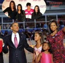 【イタすぎるセレブ達】ミシェル・オバマ米大統領夫人、「夫は娘達にカーダシアン家のリアリティTVを見せたくない」