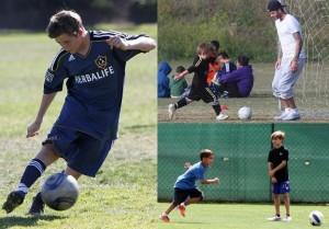 【イタすぎるセレブ達】さすがベッカムの息子たち。サッカーが上手い!