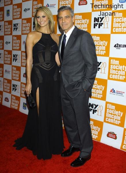 【イタすぎるセレブ達】ジョージ・クルーニーと新恋人のステイシー・キーブラー、揃ってレッドカーペットに登場!