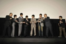 【エンタがビタミン♪】篠田不在でも。次回作の主役の座をジャンケンで争う、『サラリーマンNEO 劇場版(笑)』出演者たち。