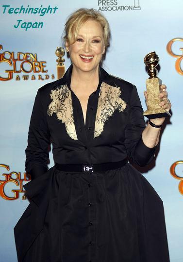 【イタすぎるセレブ達】大女優メリル・ストリープ、『第69回Gグローブ』授賞式で散々なスピーチ。まさかの言葉に会場のセレブも唖然。