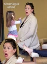 【イタすぎるセレブ達】ジェニファー・ガーナーの娘たちはネイルサロンにハマっている。