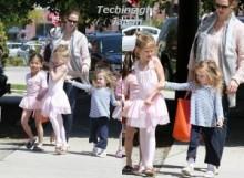 【イタすぎるセレブ達】ジェニファー・ガーナーの長女、バレエ教室の日だけは3歳の妹がうっとうしい!?