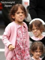【イタすぎるセレブ達】女優サルマ・ハエックの娘、あまりにも醜い顔でパパラッチを退治。