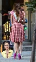 """【イタすぎるセレブ達】『ゴシップガール』撮影中、レイトン・ミースターが見せた""""イタイ""""ファッション。"""