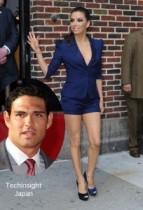 【イタすぎるセレブ達】女優エヴァ・ロンゴリア、新たに狙っているのはNFLの人気QBマーク・サンチェス。