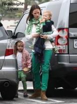 【イタすぎるセレブ達】女優ジェニファー・ガーナー親子、揃いも揃ってグリーンで過ごした一日。