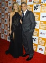 【イタすぎるセレブ達】ジョージ・クルーニーの恋人ステイシー・キーブラーが魅せた? セクシーな失態。