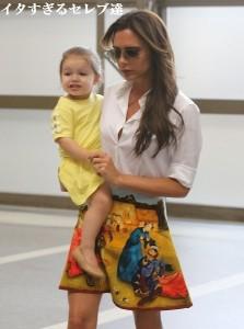 【イタすぎるセレブ達】ヴィクトリア・ベッカム、2歳の愛娘のファッションアドバイスに「さすがだわ!」