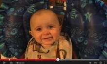 【米国発!Breaking News】ママの熱唱に生後10か月の赤ちゃんが思わず感涙!(カナダ)<動画あり>