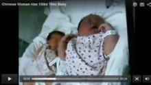 【アジア発!Breaking News】上海で6180gの超ジャンボベビー誕生。母親が摂り続けた食品とは!?(中国)