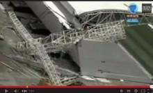 【南米発!Breaking News】「2014 W杯」開幕戦を行うアリーナでクレーン倒壊。作業員が死亡。(ブラジル)