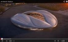 【中東発!Breaking News】カタールのワールドカップ新スタジアム、屋根のフォルムに人々は苦笑。
