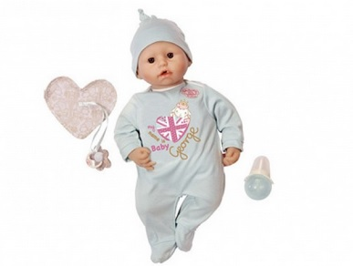 【EU発!Breaking News】英王室、ドイツの玩具メーカーが発売した「ジョージ人形」に激怒。