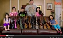 【米国発!Breaking News】だからアメリカの銃は無くならない。6歳児に撃ち方を教える37歳父親。<動画あり>