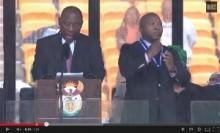 【アフリカ発!Breaking News】マンデラ元大統領の追悼式、問題の手話通訳者に障害者からも非難の声。(南ア)
