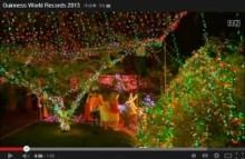 【豪州発!Breaking News】「今年の最もブリリアントなクリスマスイルミネーション」とギネスが認定したお宅!<動画あり>