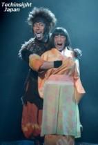 【エンタがビタミン♪】中村勘九郎、女性の胸をおもむろに。ちょっとエッチな猿飛佐助を熱演。