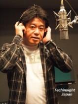 【エンタがビタミン♪】ホリエモン、CDレコーディングに初挑戦。「ネットでの歌への批判は気にしない」