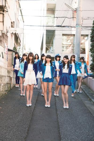 八坂沙織の卒業が近づくSUPER☆GiRLS(『GiRLPOP 2014 SPRING』)