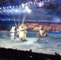 【エンタがビタミン♪】ソチ五輪開会式に登場したマスコットのクマに反響。「○○に似ている」
