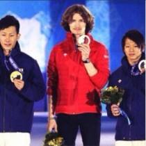 【エンタがビタミン♪】ソチ五輪・スノーボード銀メダルの平野歩夢選手がコメント。「すごくパワーもらいました!」