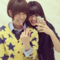 【エンタがビタミン♪】AKB48メンバーと連日交友を深める前田敦子。「しーちゃんにあった 歯磨いてた」