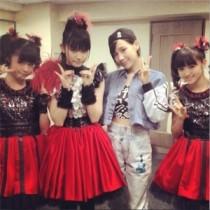 【エンタがビタミン♪】仲里依紗がBABYMETAL・武道館公演に参戦していた。「若いのに頑張っててえらい!」