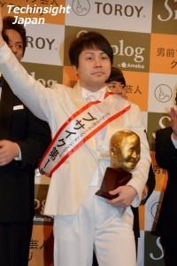 ダサいと併せて2冠を達成したブサイクランキング1位の井上裕介(NON STYLE)