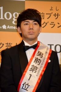 よしもと男前ランキング1位で殿堂入りを果たした綾部祐二(ピース)