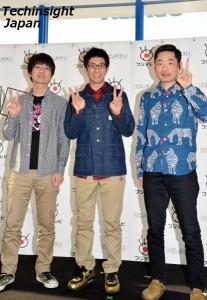 イベントに登場した高橋健一、柴田英嗣、今野浩喜