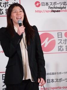 6月の全日本選手権、9月の世界選手権で優勝を誓う吉田沙保里選手