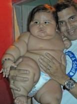 【南米発!Breaking News】生後8か月で19.5kgの超肥満児に母ギブアップ、ボランティア組織に療育をゆだねる。(コロンビア)