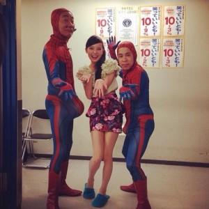 【エンタがビタミン♪】木梨と岡村がスパイダーマン姿で鶴瓶にダメ出し。「自らサプライズに掛かった」