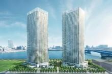 東京五輪・選手村予定地で注目の晴海。超高層マンション「ザ・パークハウス晴海タワーズ ティアロレジデンス」がモデルルームをオープン