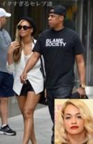 """【イタすぎるセレブ達】""""ビヨンセの態度""""""""Jay-Zのニオイ"""" 夫妻に会った歌手リタ・オラが語る。"""