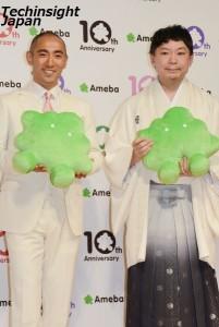 白鳳のブログをチェックしていると語った市川海老蔵と鈴木おさむ