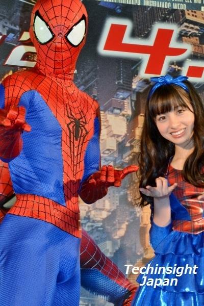 スパイダーマンと橋本環奈