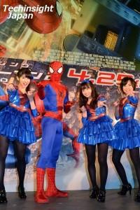 イベントと楽しんだ秋山美穂、スパイダーマン、橋本環奈、四宮なぎさ