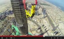【中東発!Breaking News】世界一高いビル、ドバイの「ブルジュ・ハリファ」からダイビングするとこうなる!<動画あり>