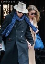 【イタすぎるセレブ達】ジョニー・デップ、婚約者アンバーをベタ褒め。「ワンダフル」「僕にピッタリの相手」