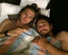 【イタすぎるセレブ達】ジェームズ・フランコ、人気男優とのベッドイン写真公開。