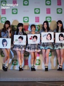 【エンタがビタミン♪】AKB48がLINEのスタンプになる! 小嶋陽菜「私はスタンプのカリスマ」と告白。