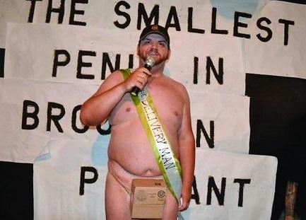 """【米国発!Breaking News】デカけりゃイイってもんじゃない。NYで""""短小""""を競う男性自身コンテスト。"""