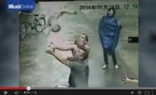 【アジア発!Breaking News】ビルの窓から落下した赤ちゃんを男性がナイスキャッチ。(中国)